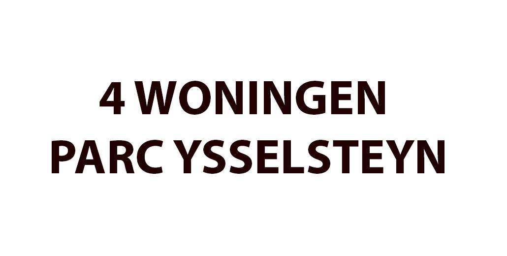 YSSELSTEYN 4 WONINGEN PARC YSSELSTEYN
